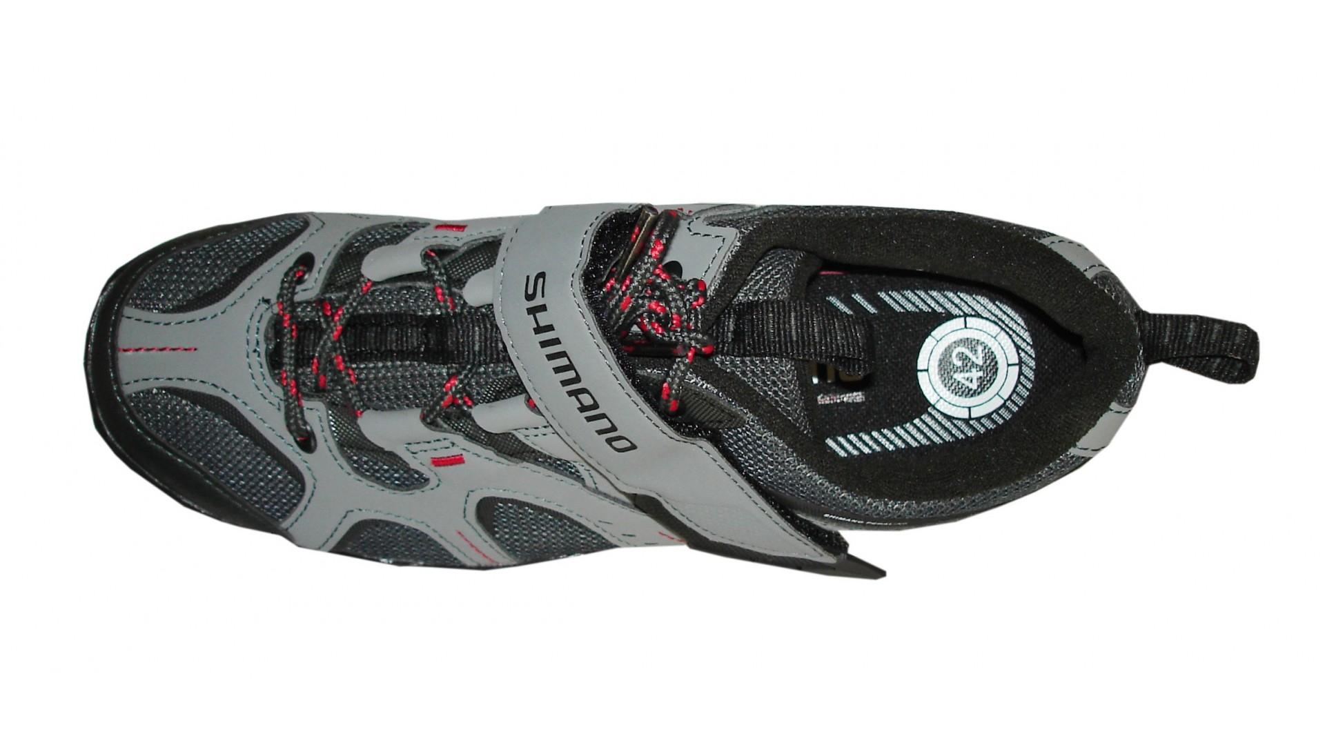 Велотуфли Shimano MTB SH-MT43 G серые