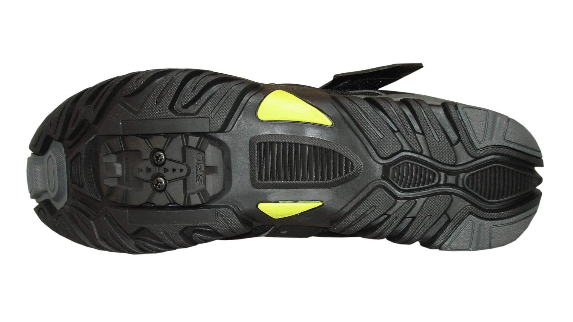 Велотуфли Shimano MTB SH-MT43 L черные