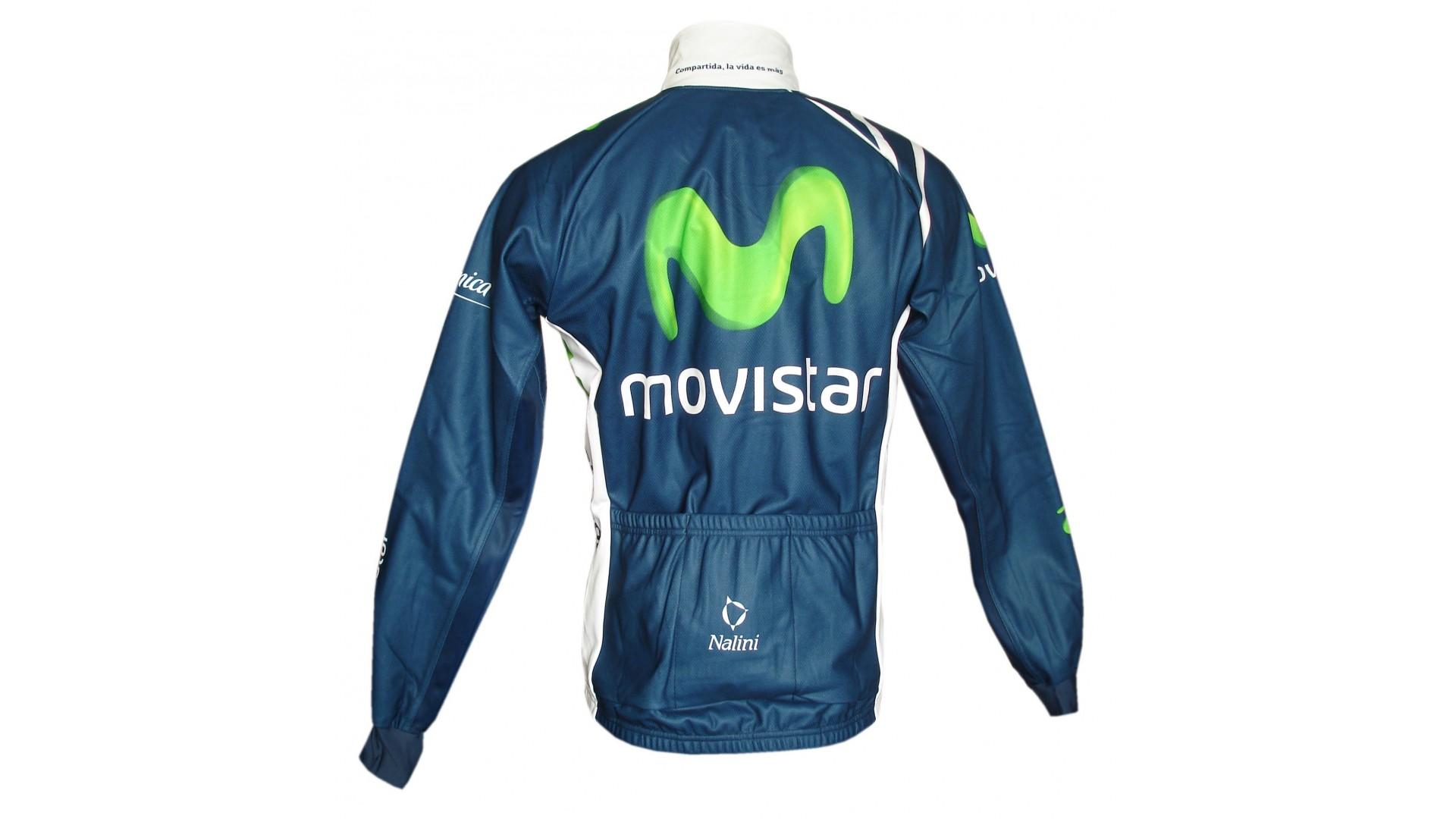 Комплект велоодежды зимний Nalini Movistar