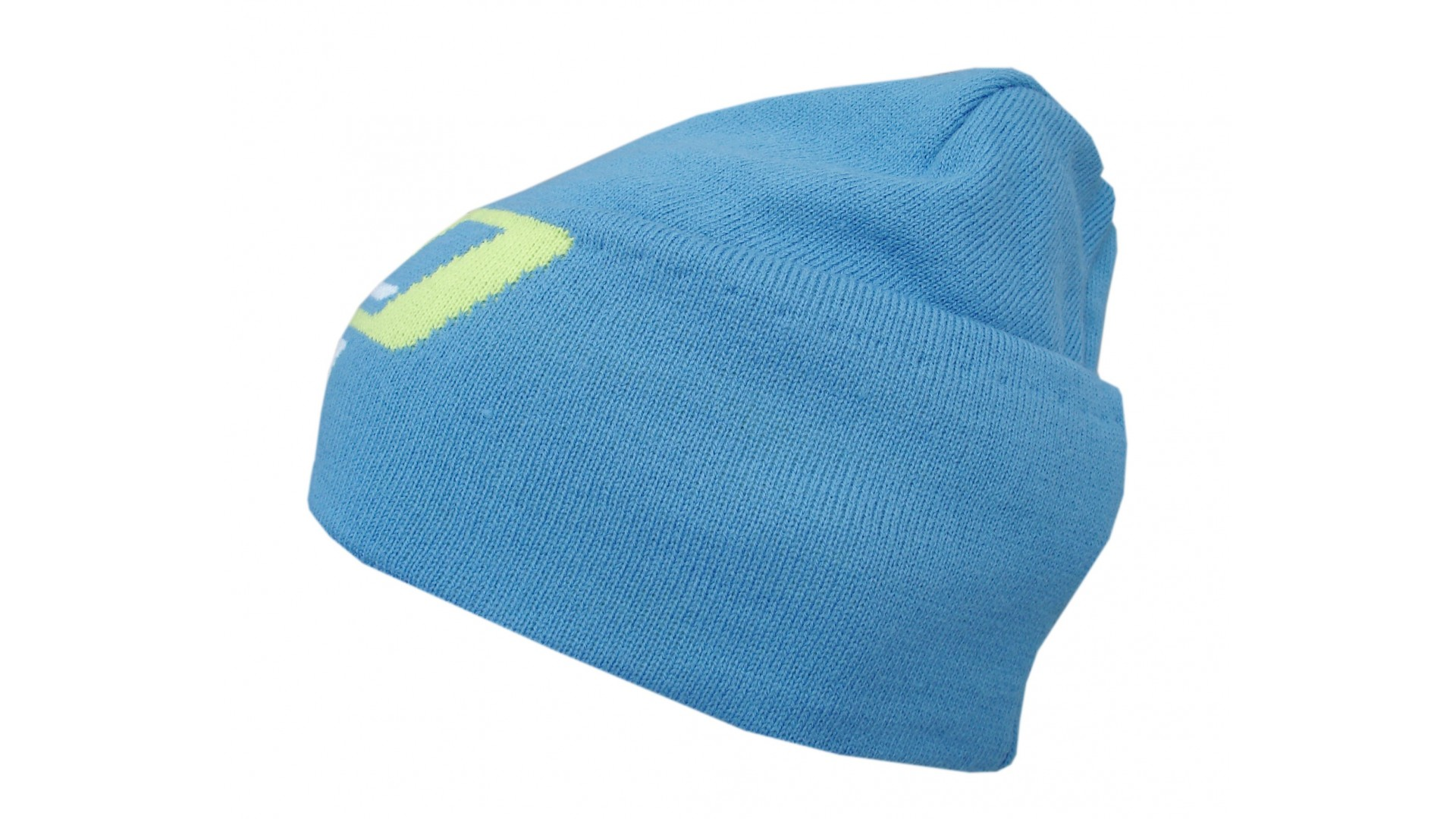 Велошапочка Ghost Beanie cyan/limegreen/white зимняя год 2015