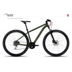 Велосипед GHOST Kato 2 AL 29 forestgreen/armygreen/neonred год 2017