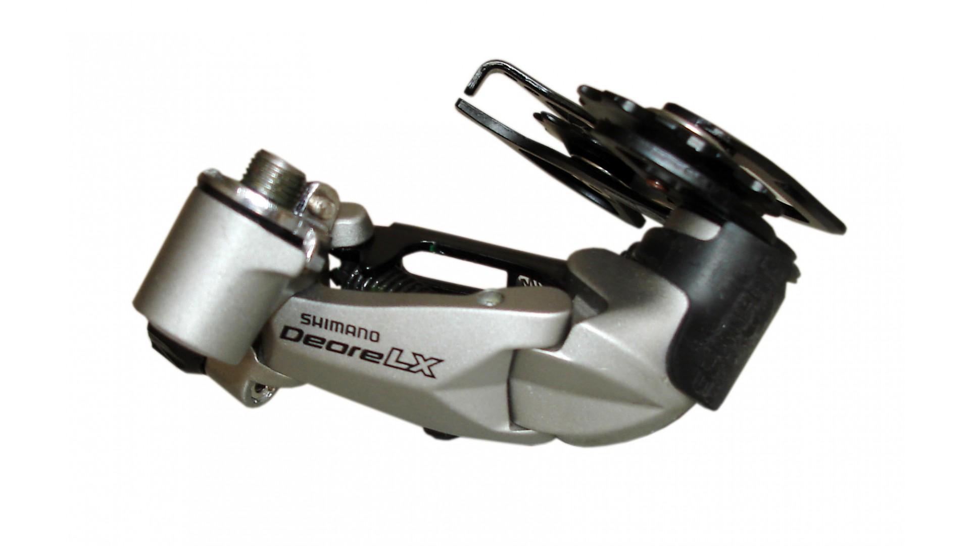 Переключатель задний Shimano RD-M580GS LX, 9-ск, Rapid Rise, среднее плечо
