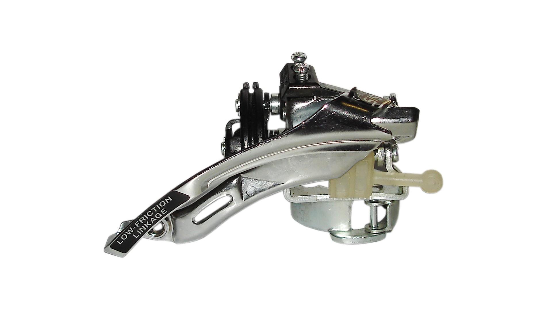 Переключатель передний Shimano FD-C050, универсальная тяга 34.9 (адаптер 31.8 и 28.6)