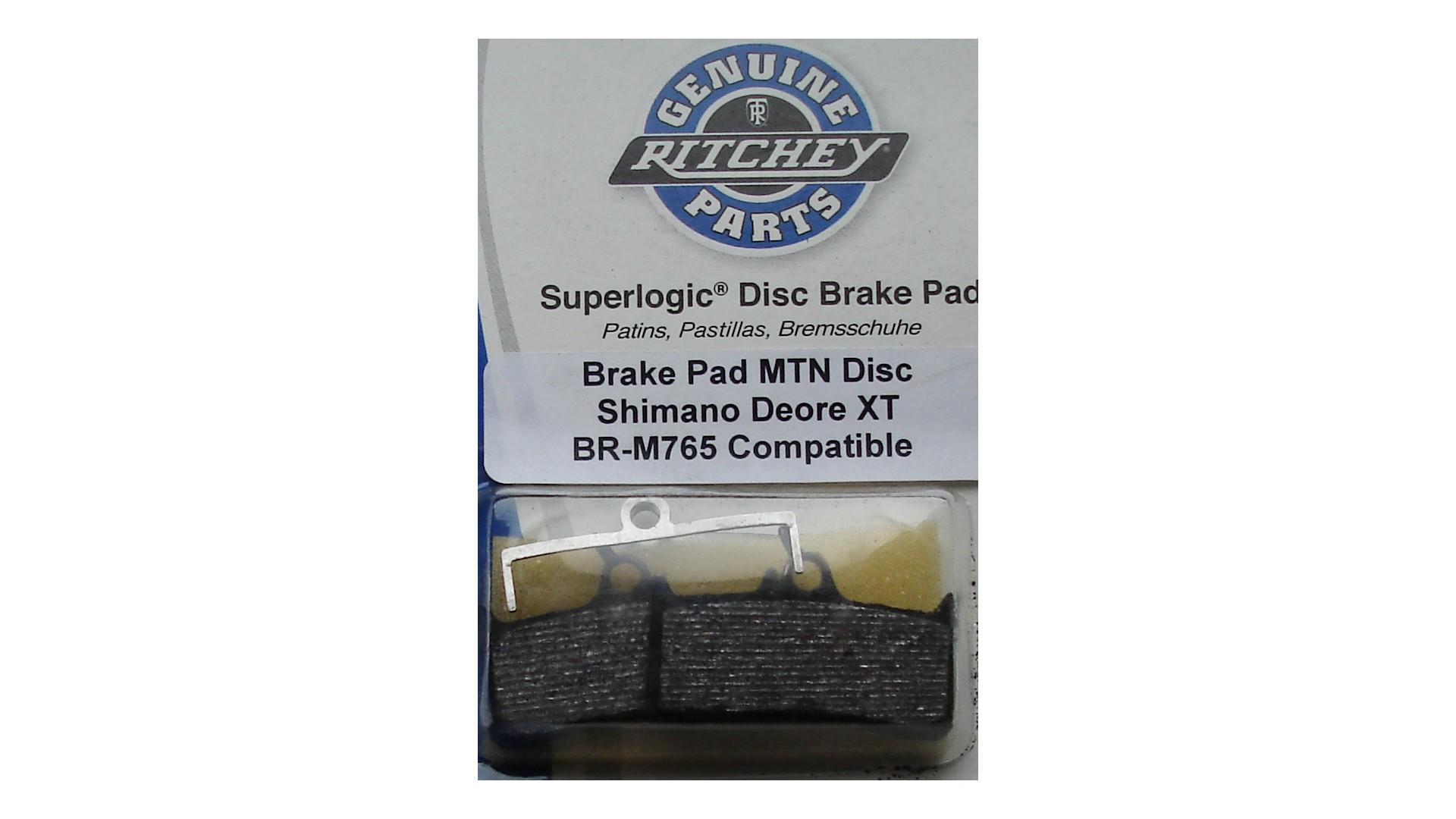 Тормозные колодки Ritchey Brake Pads MTN Disc  Deor XT, BR-M765 для дискового тормоза