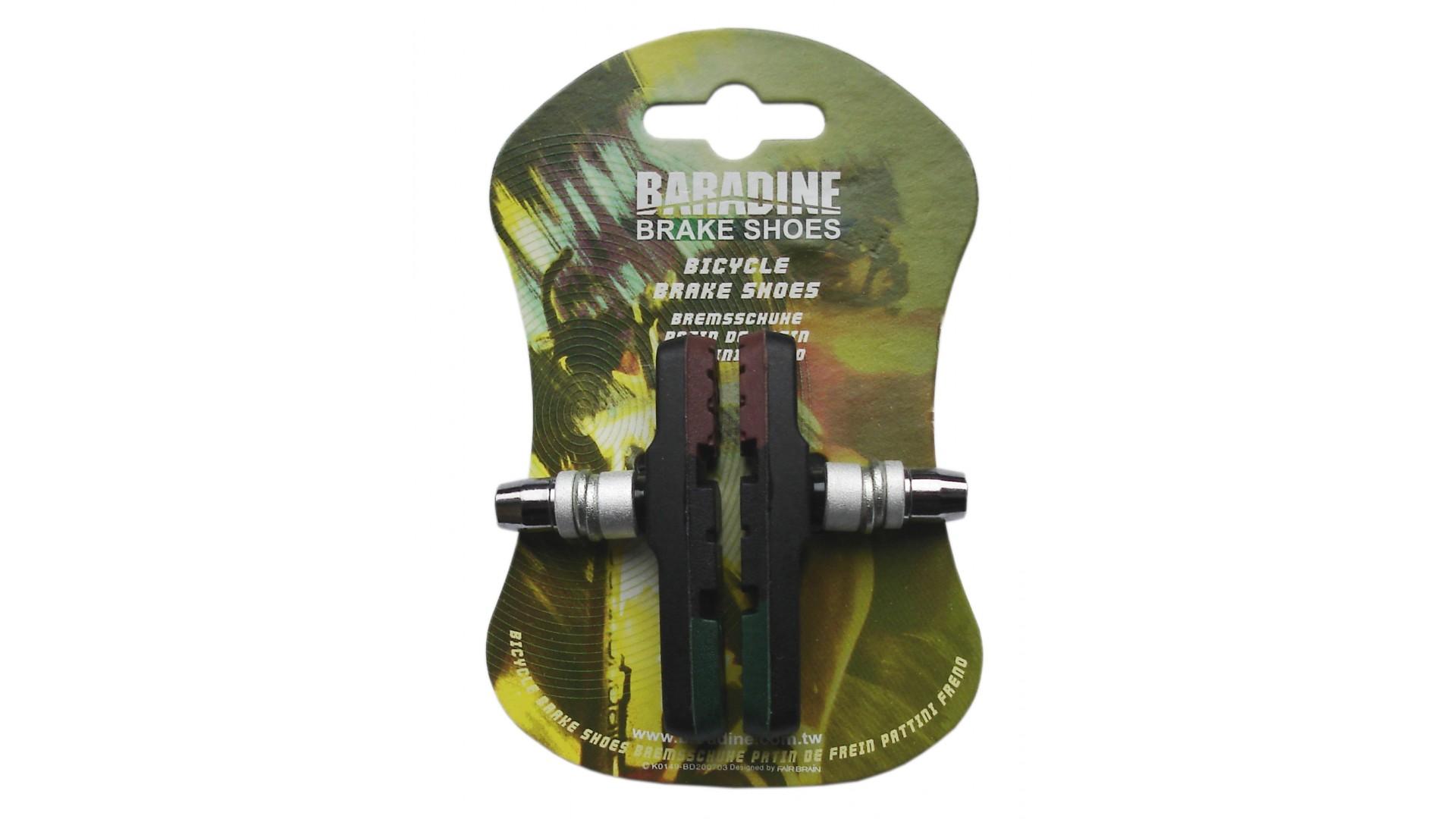 Тормозные колодки V-br Baradine (960V) МТВ, 3 цвета