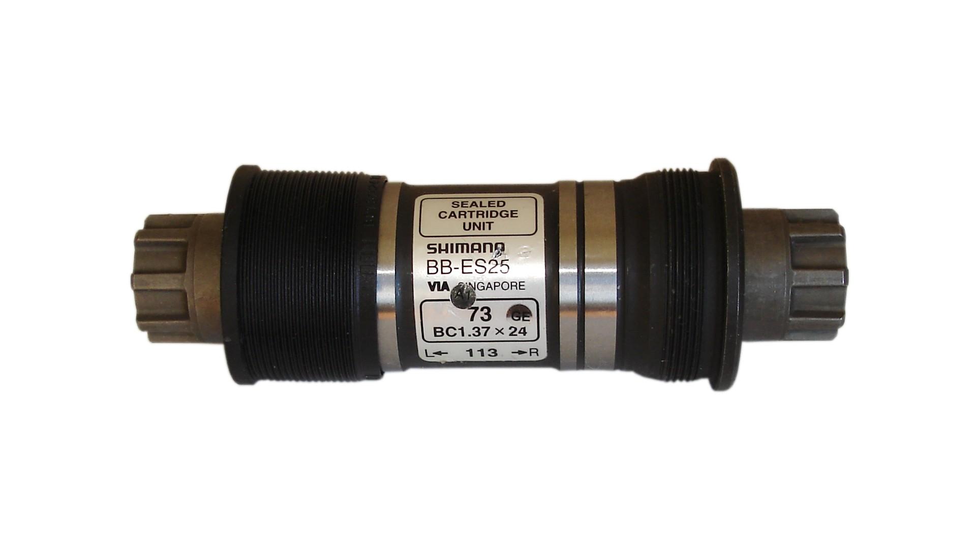 Каретка Shimano BB-ES25 BSA 73mm Octalink без болтов