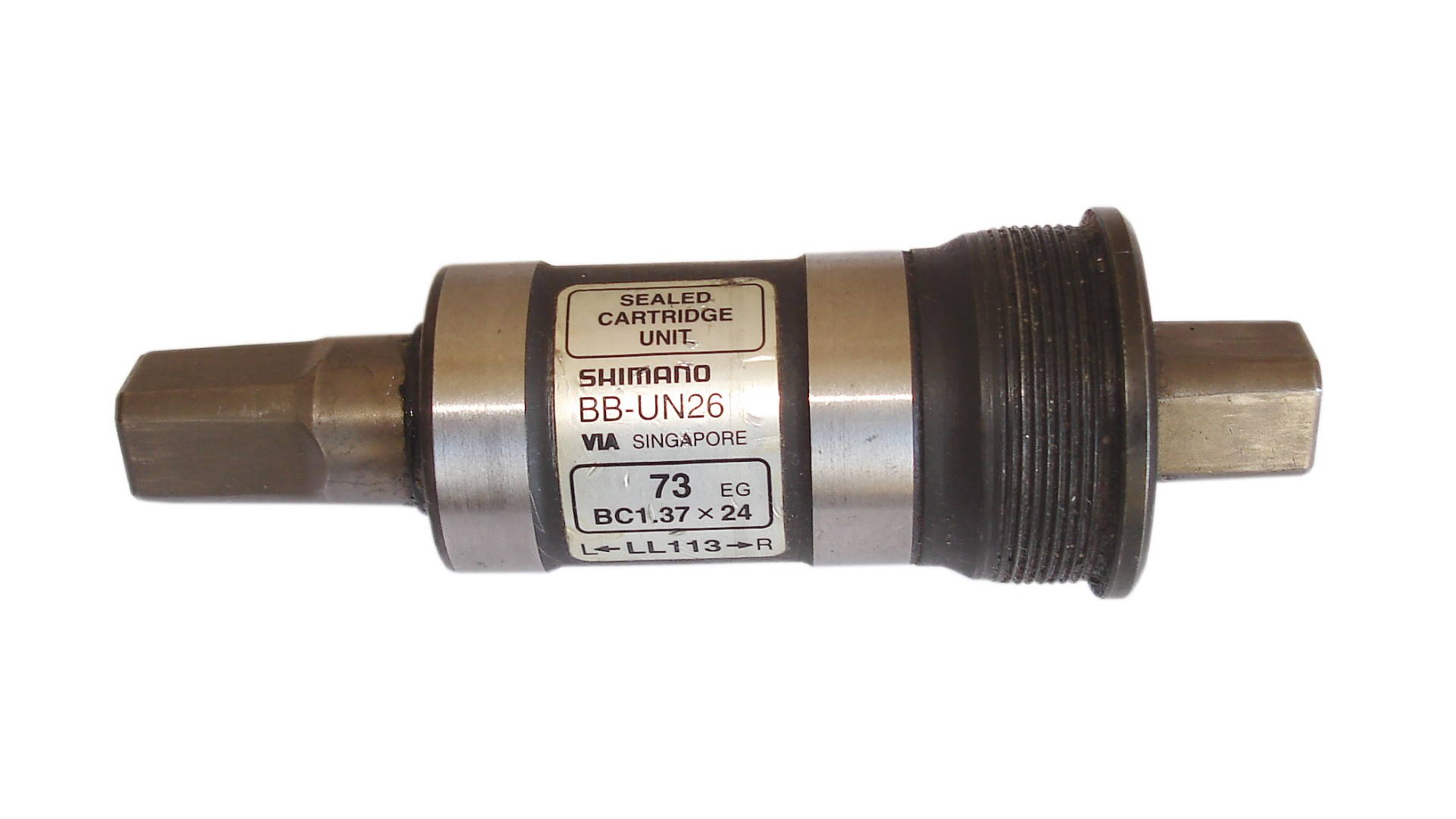 Каретка Shimano BB-UN26 BSA 73mm под квадрат