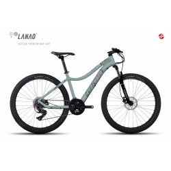 Велосипед GHOST Lanao 1 AL 27.5 lightblue/microchipgray/grey год 2017