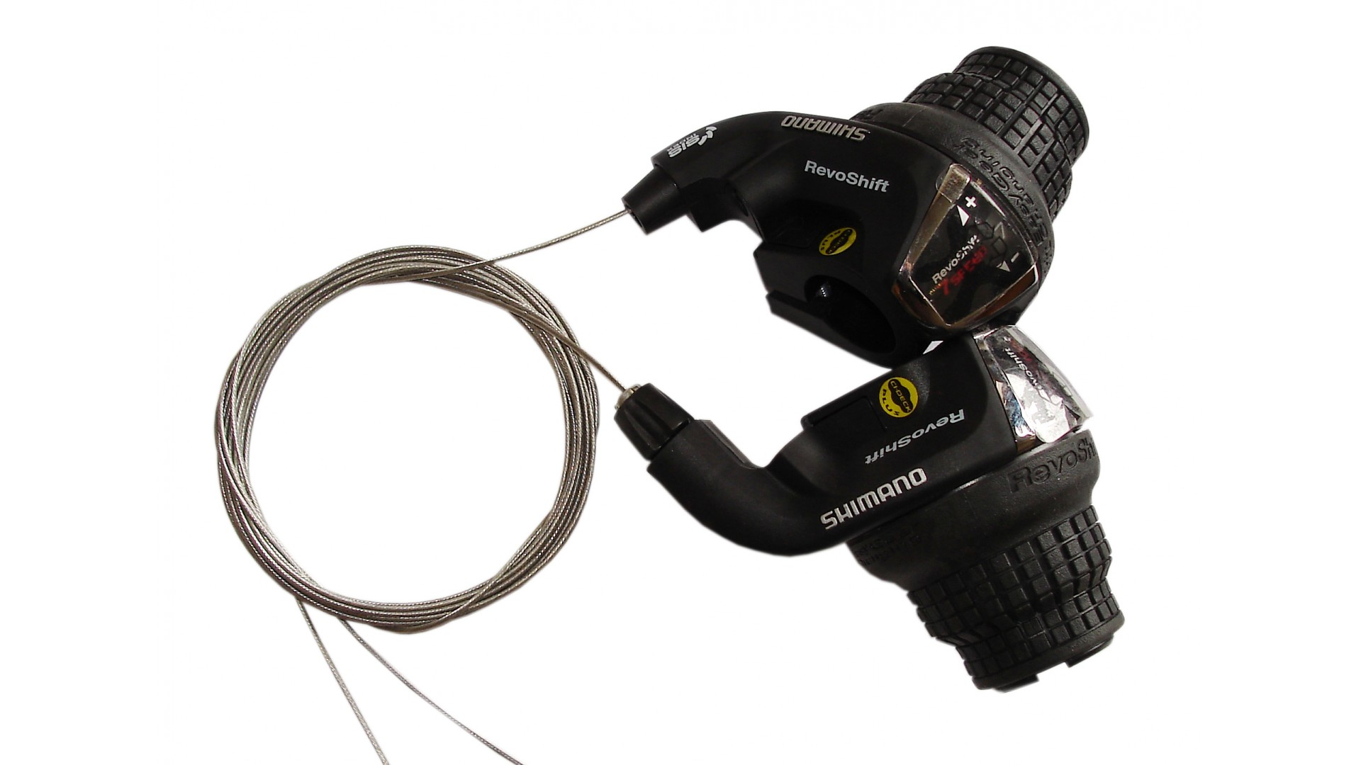 Манетки Shimano SL-RS35 Revoshift, 3x7ск. (комплект)