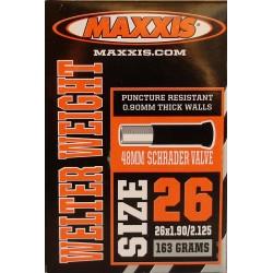 Камера Maxxis 26x1.90/2.125, Welter Weight AV 48мм