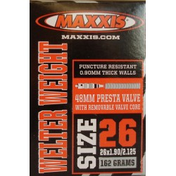 Камера Maxxis 26x1.90- 2.125, Welter Weight FV 48мм