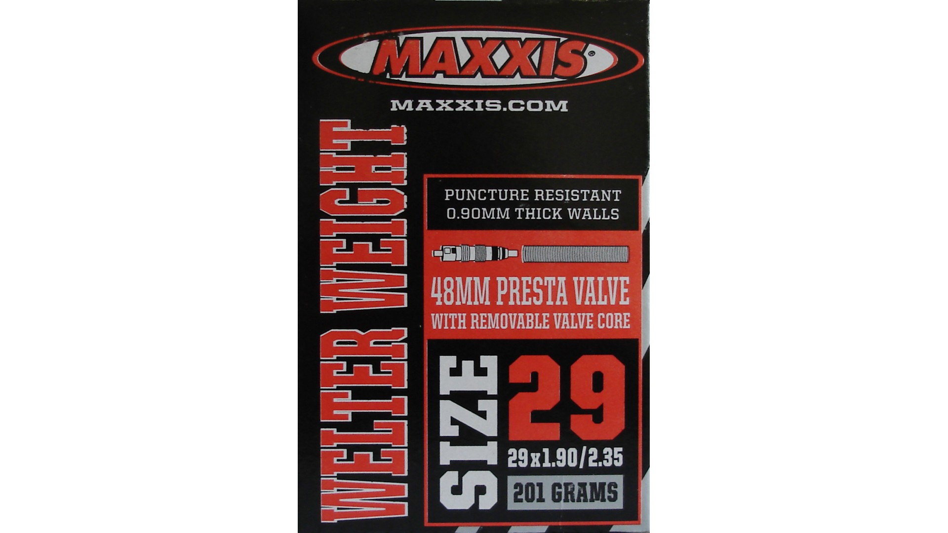 Камера Maxxis Welter Weight 29x1.90/2.35 FV L:48мм