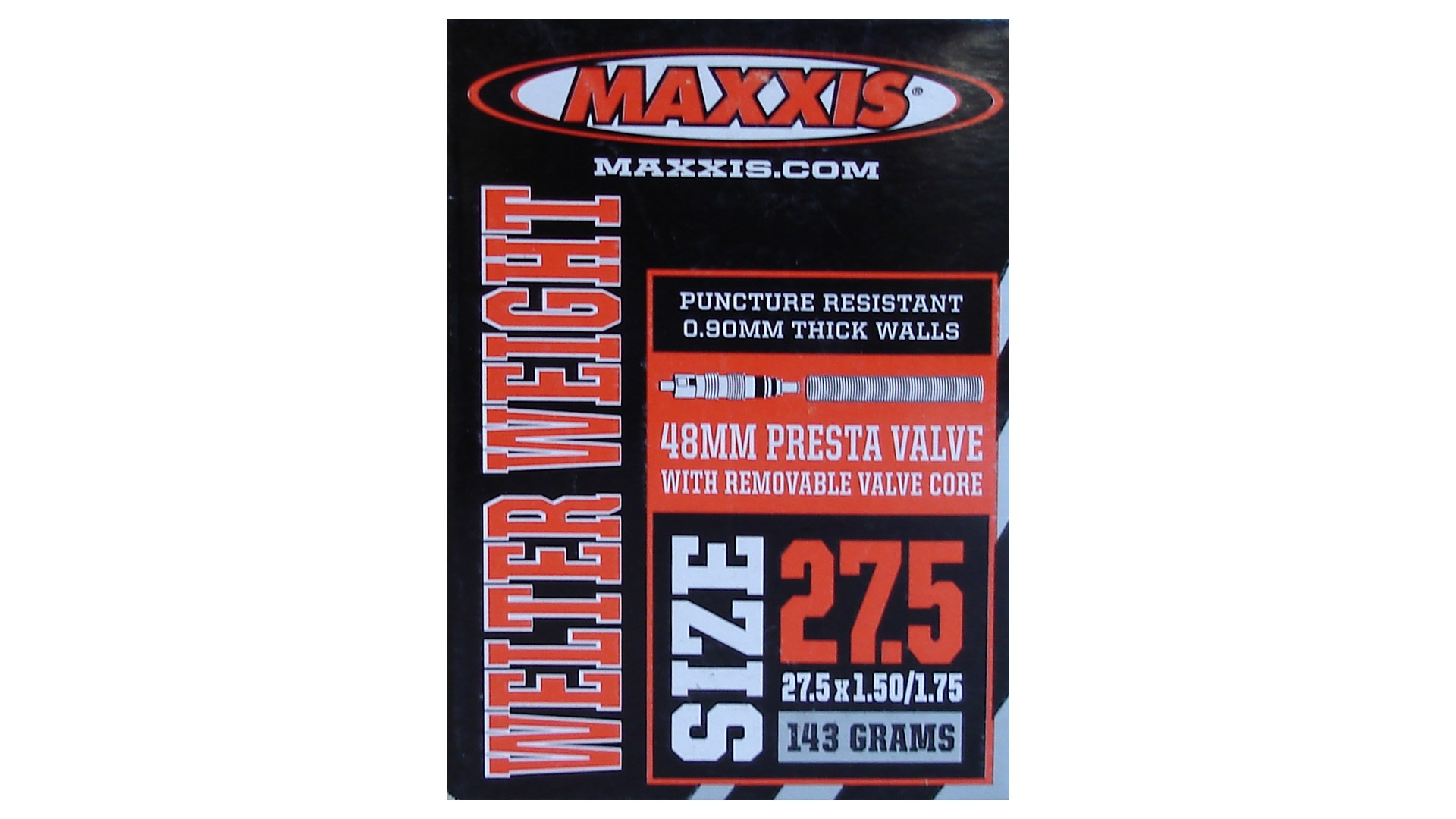 Камера Maxxis 27.5x1.50/1.75, Welter Weight FV 48мм