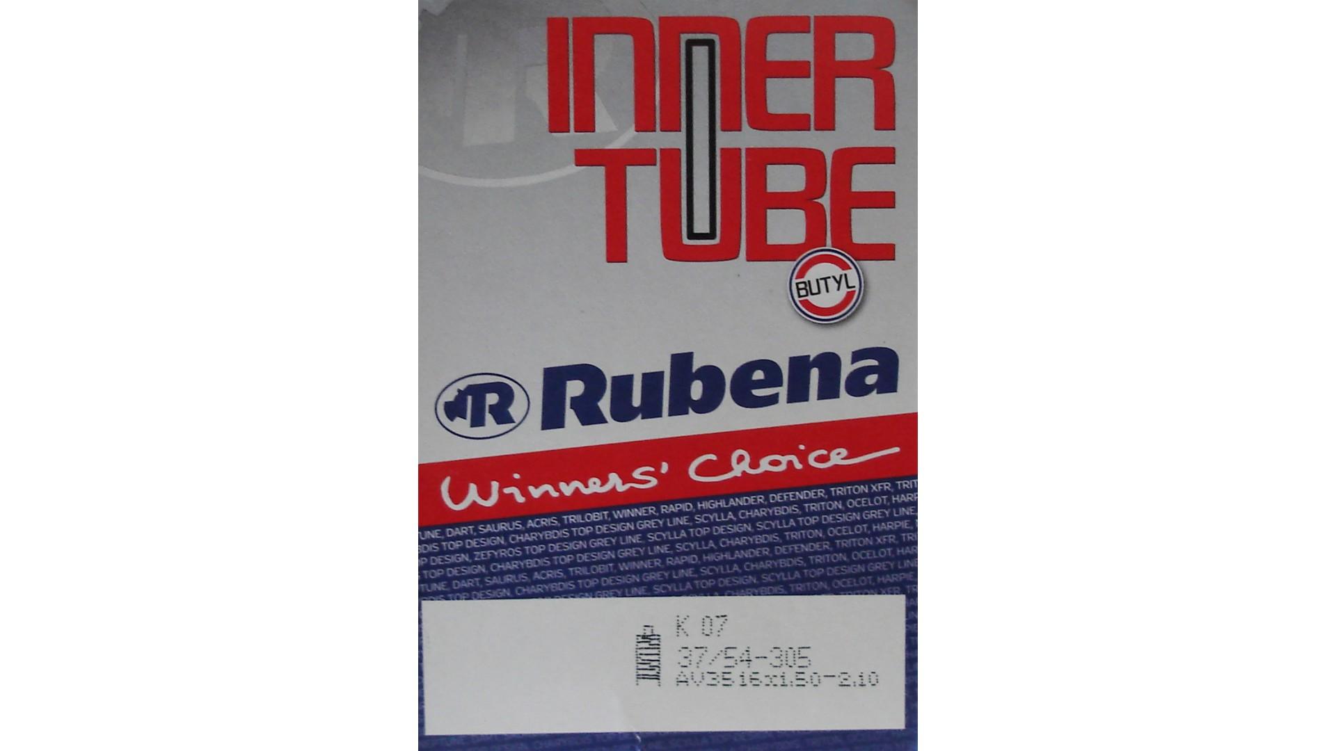 Камера RUBENA 16 x 1.50-2.10 a/v 35мм Classic K07, BSC 0,9 mm, в коробке