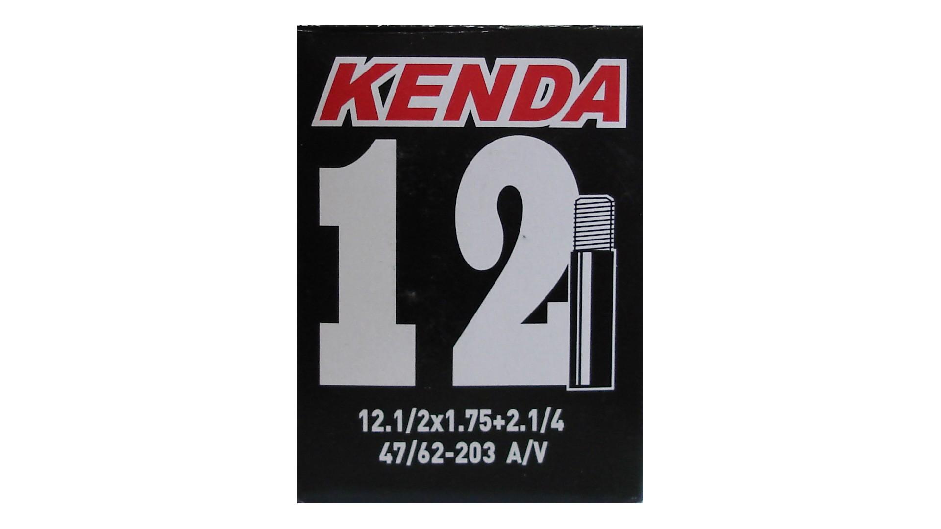 Камера KENDA 12 1/2x1.75+2 1/4 AV, в коробке