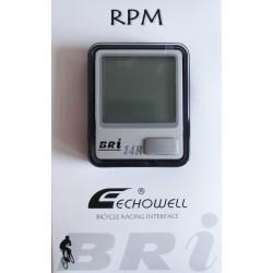 Велокомпьютер Echowell BRI-14R,15 функций беспроводной