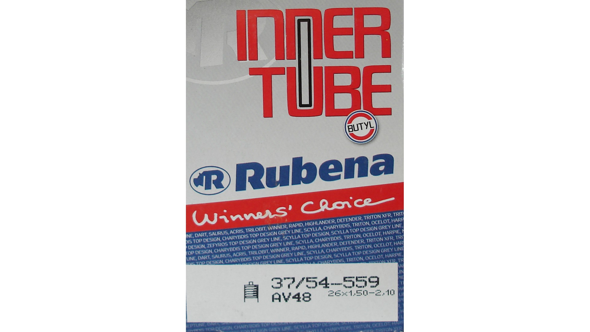 Камера RUBENA 26 x 1.50-2.10 a/v 48мм D07 BSC 0.9mm