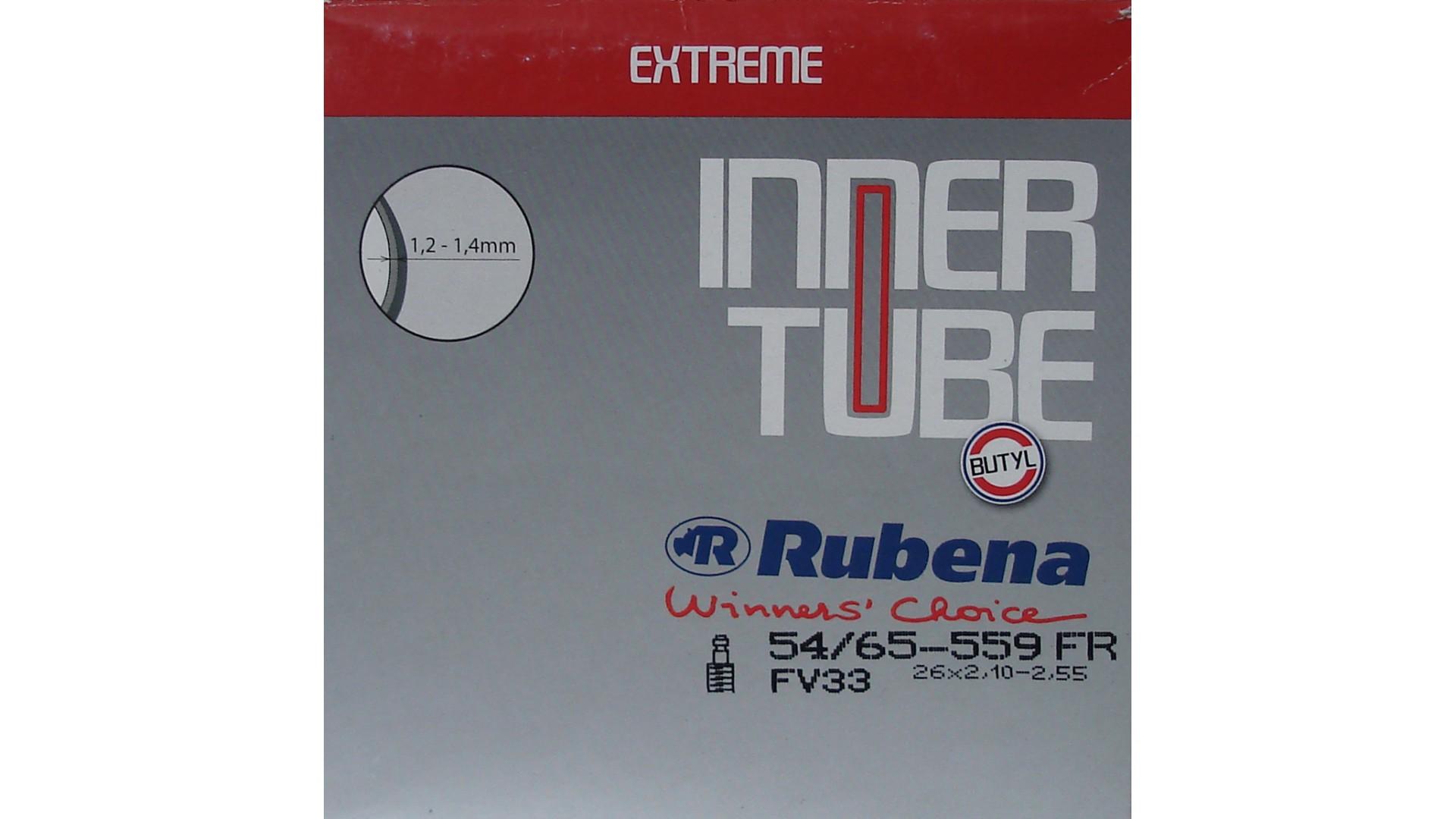 Камера RUBENA 26 x 2,10 - 2,55 FV33 Freeride D10FR
