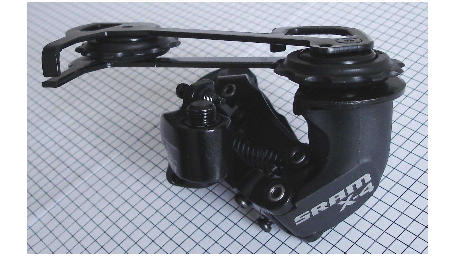 Переключатель задний SRAM X.4 8-k длинная лапка черный