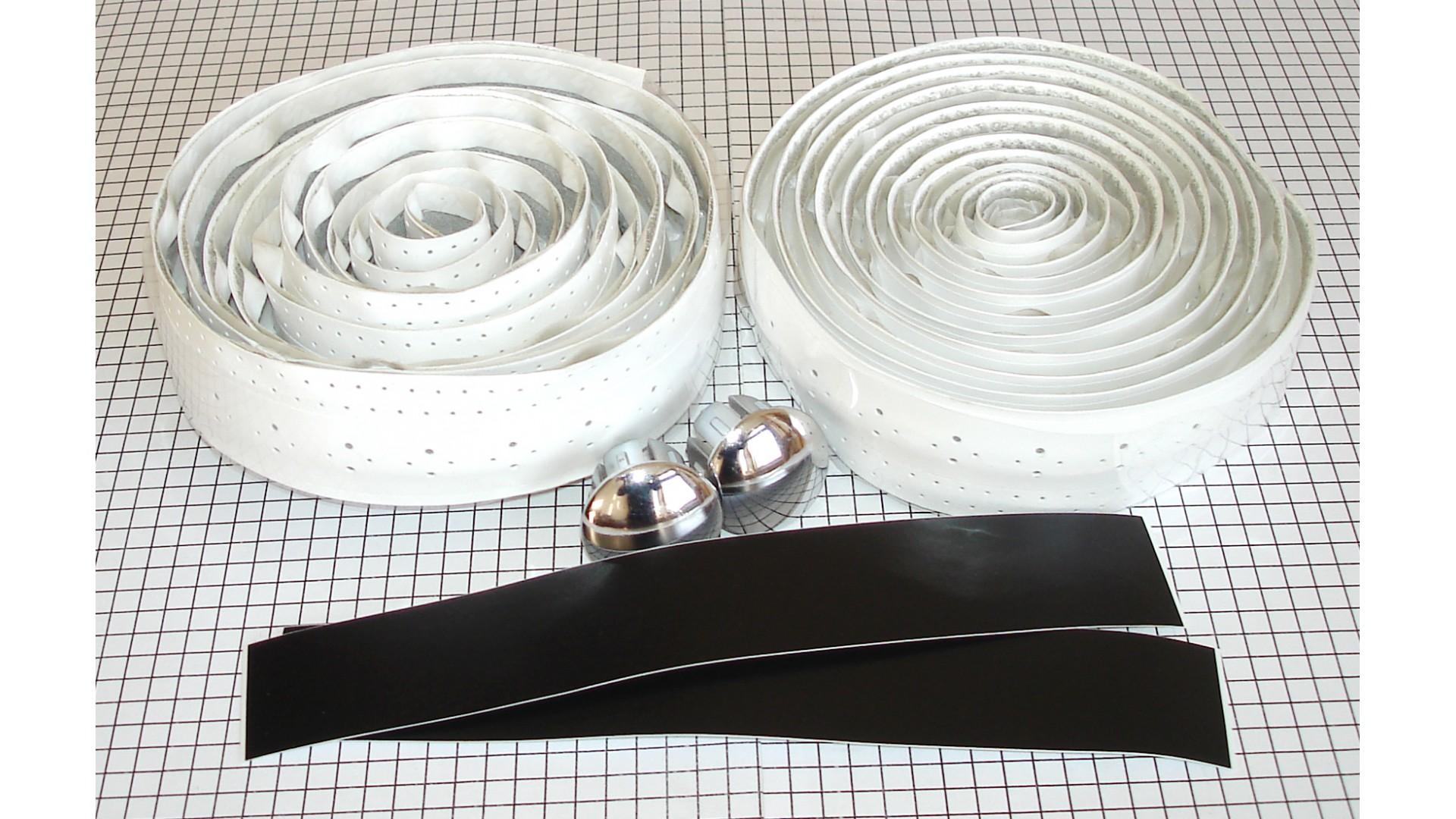 Обмотка руля TW CST-117 белый 3*200 см