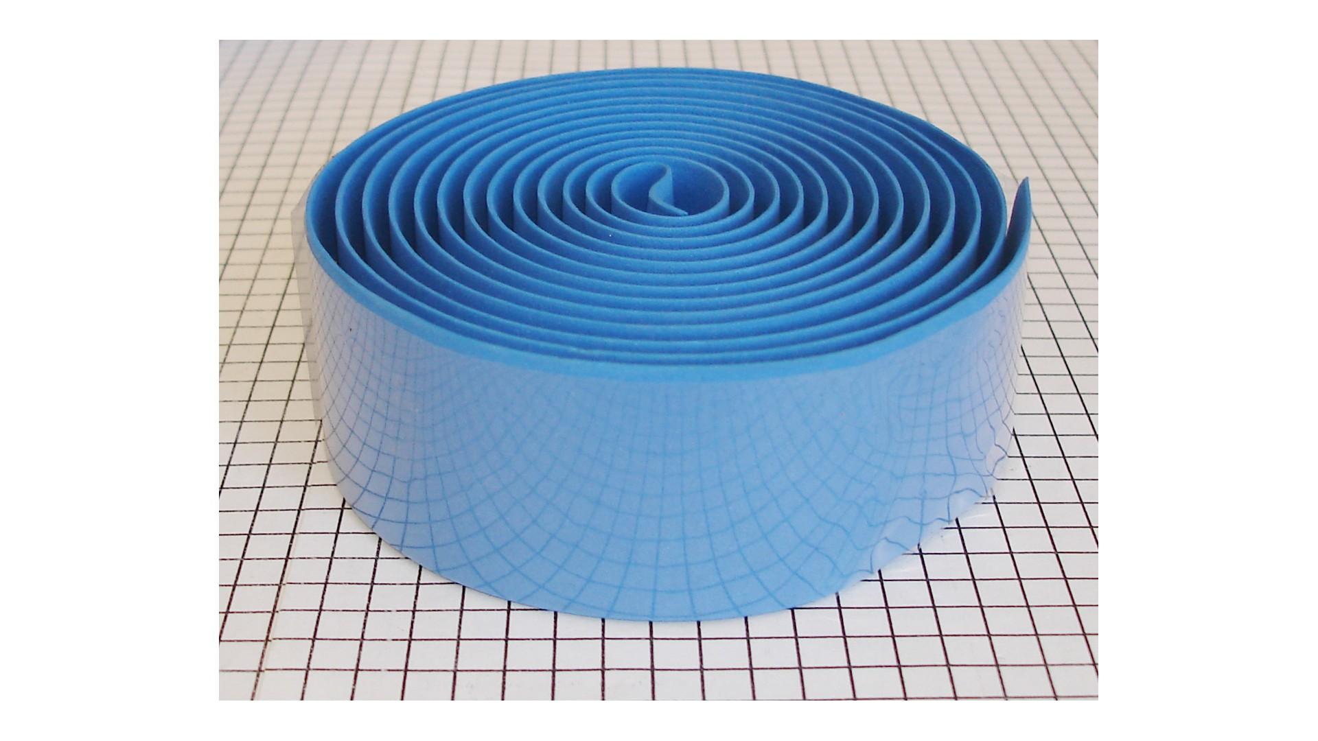 Обмотка руля Китай синяя 3*190 см