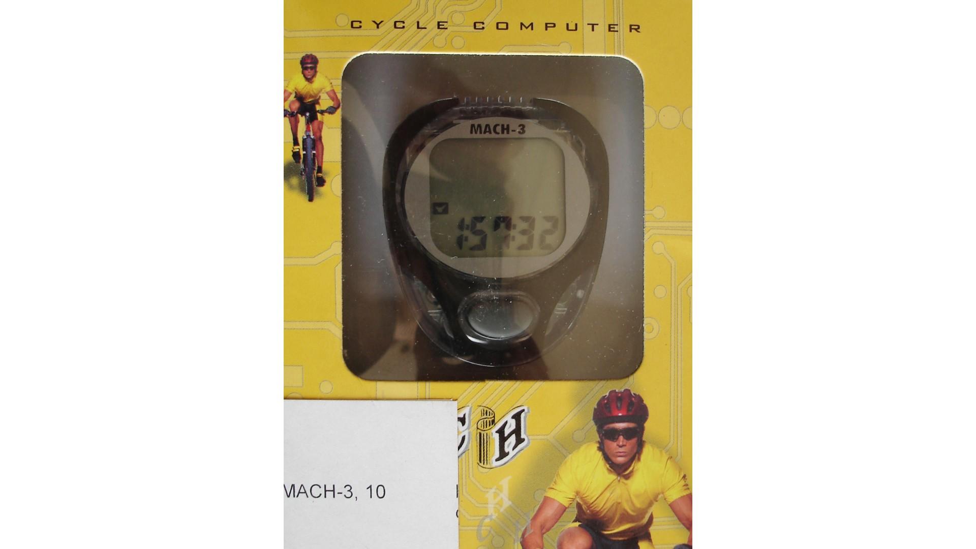 Велокомпьютер Echowell MACH-3, черный