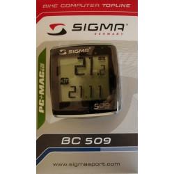 Велокомпьютер Sigma Topline BC 509 серебр.