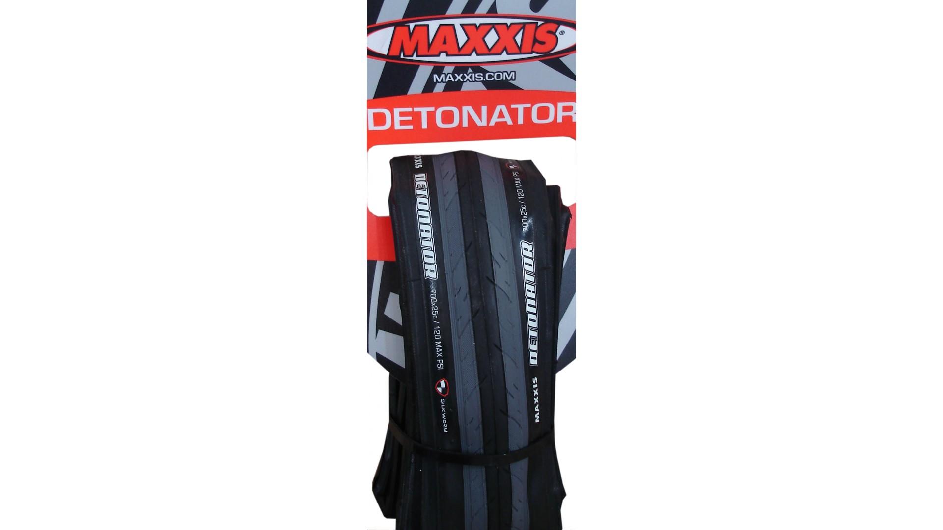 Покрышка Maxxis Detonator 700x25 черно-серая