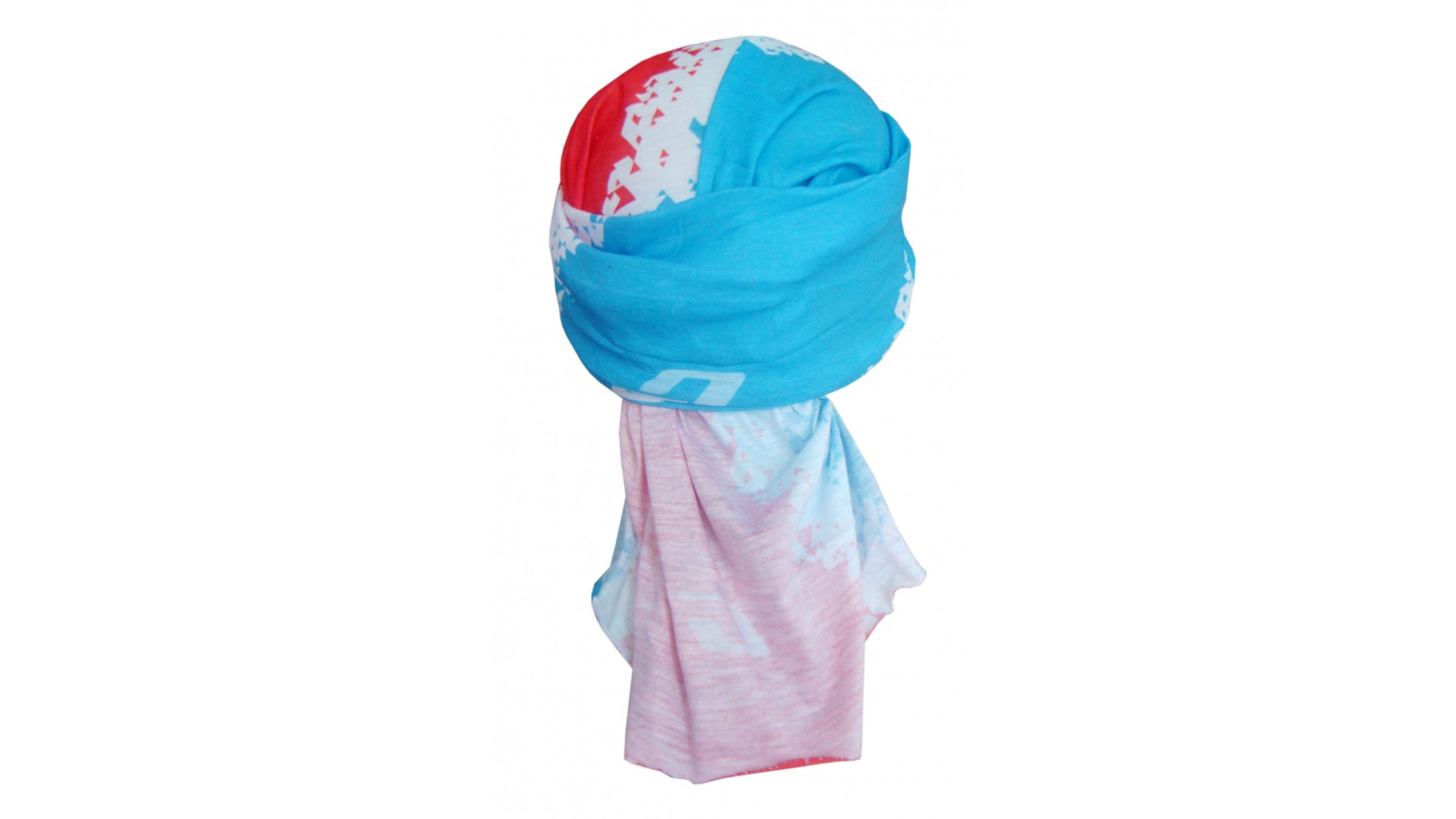 Бафф GHOST Muffler cyan/red/white