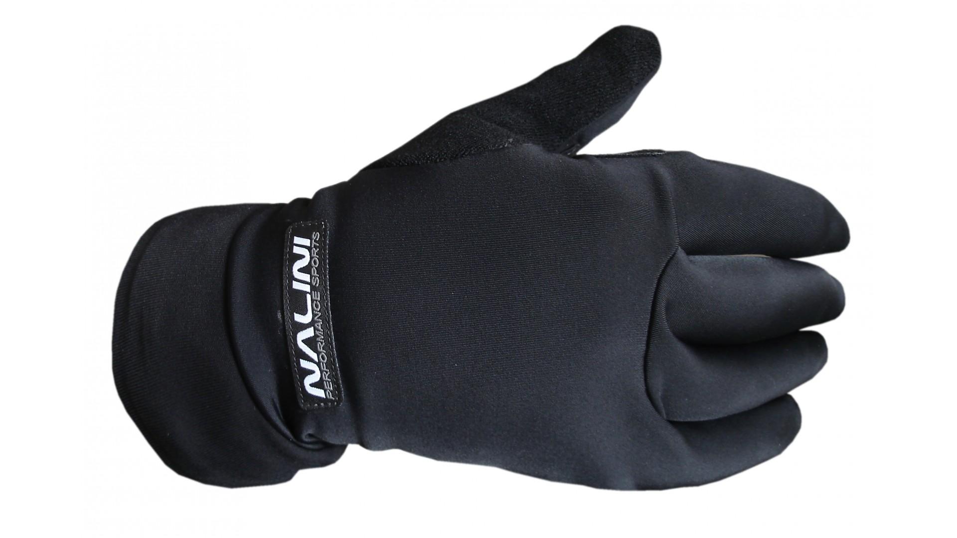 Велоперчатки Nalini Pro GOBLIN зимние черные