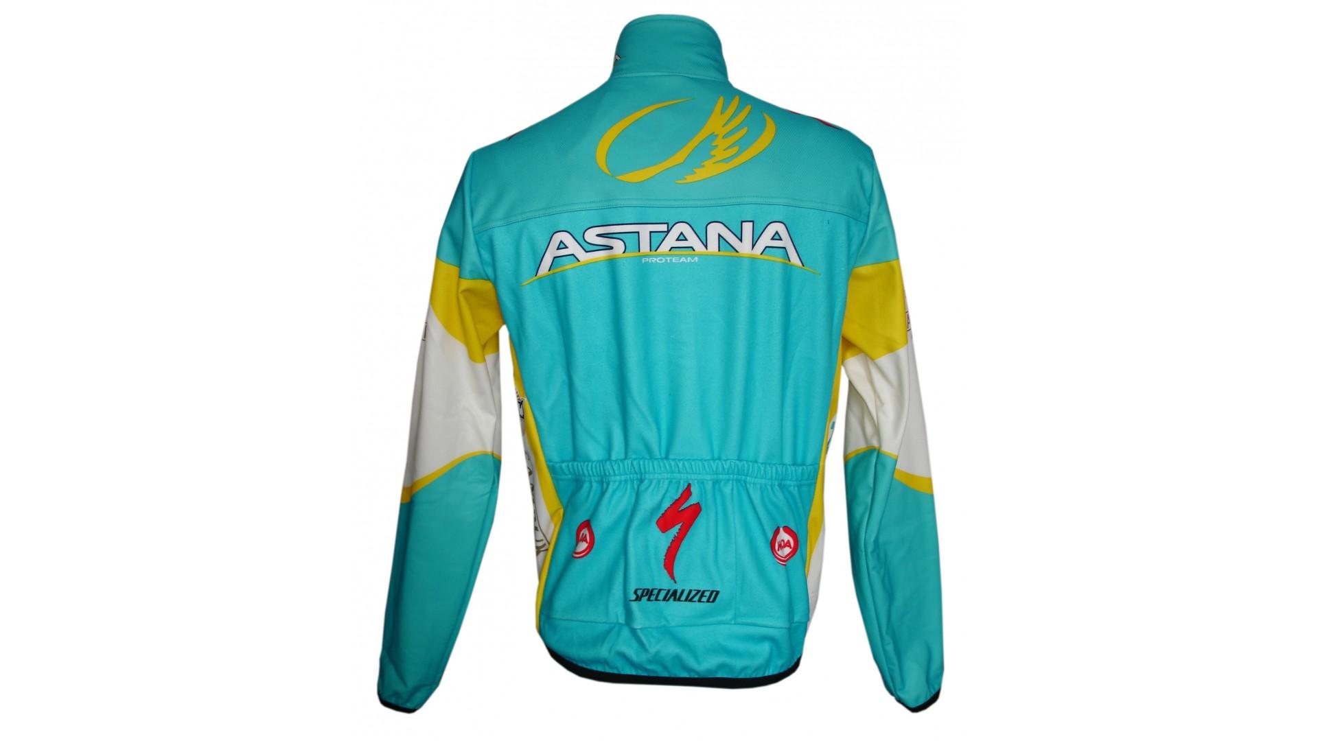 Велокуртка Nalini Astana зимняя вид сзади