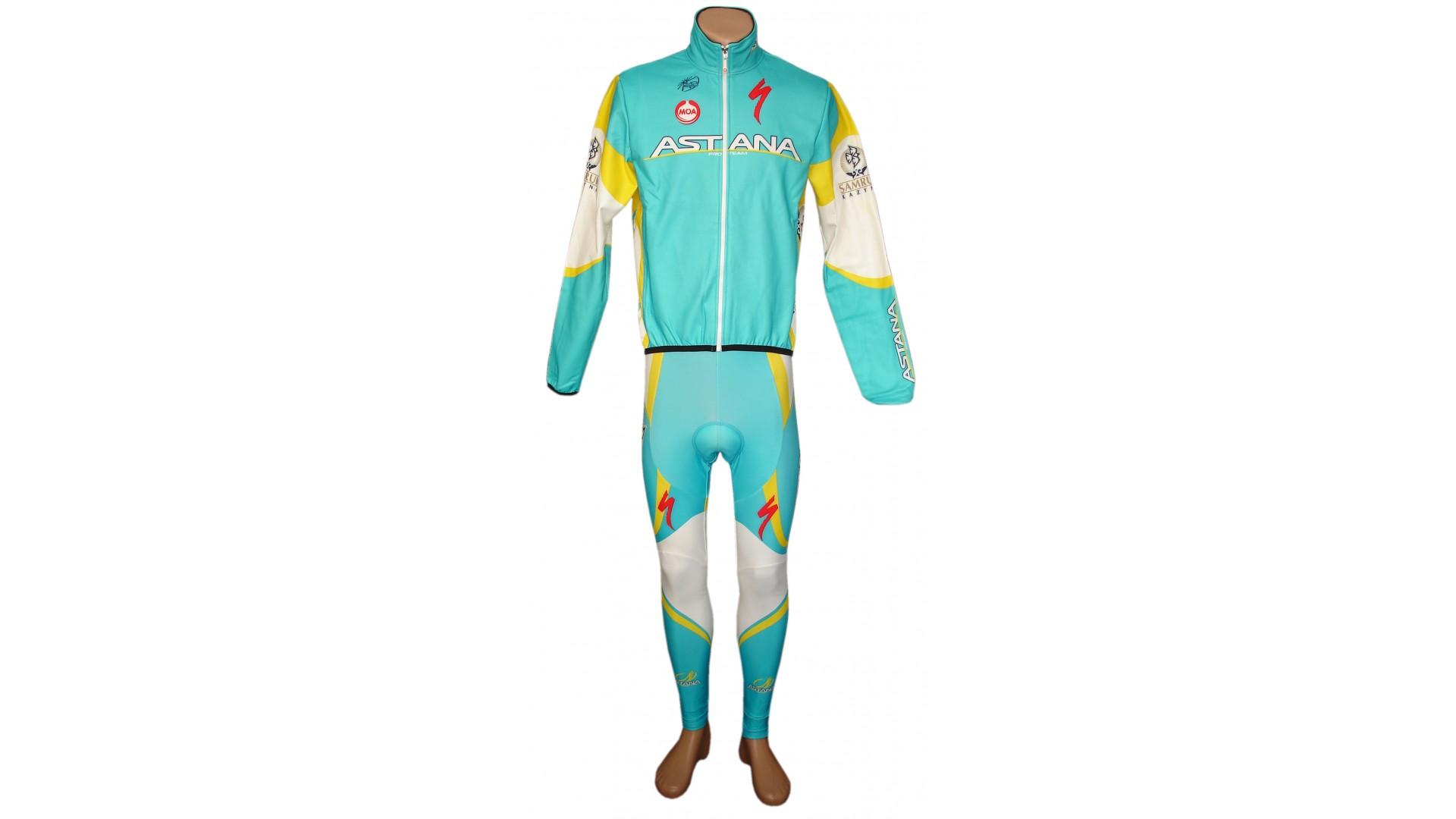 Велорейтузы Nalini Astana общий вид спереди