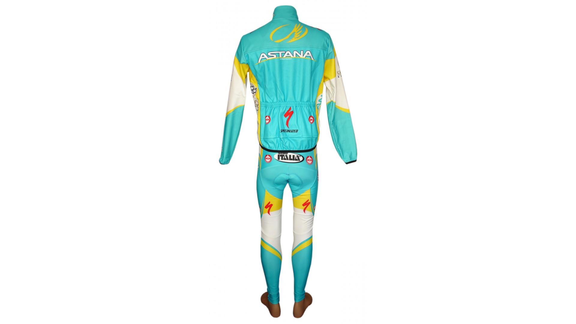 Велорейтузы Nalini Astana общий вид сзади