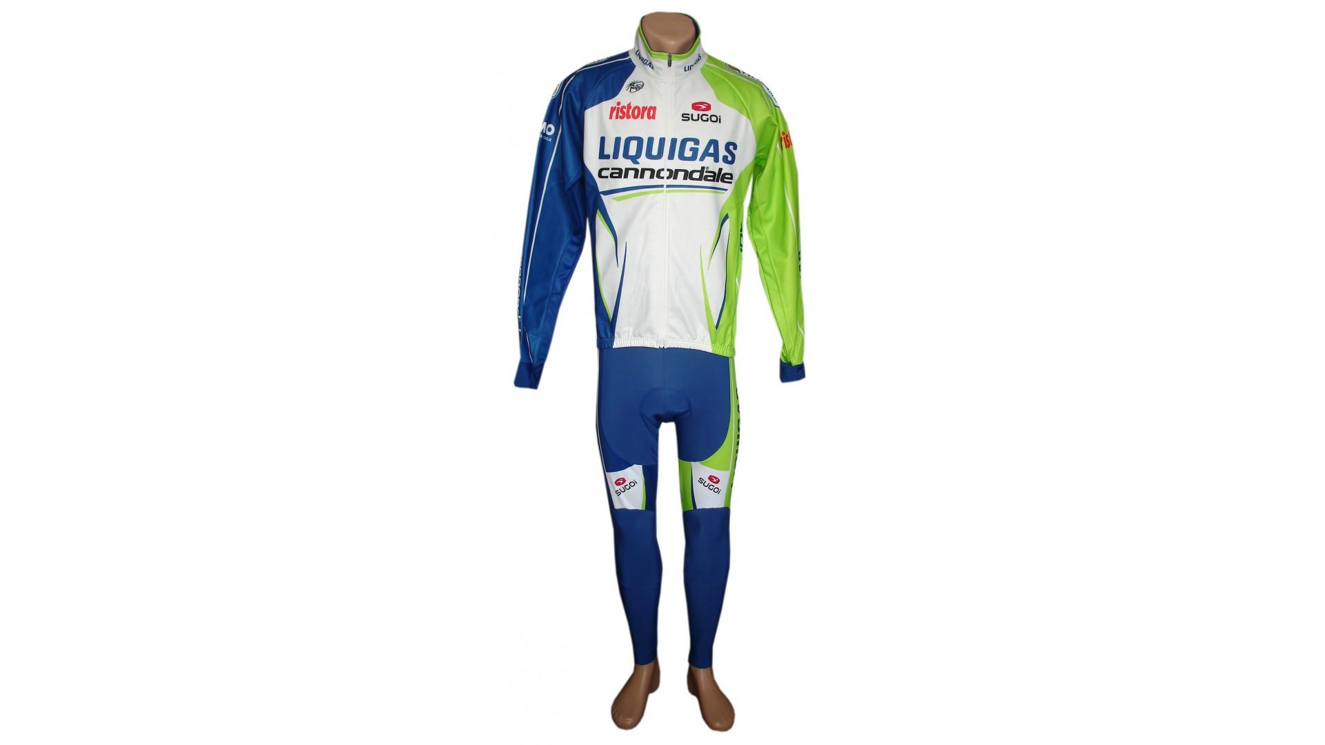 Велокуртка Nalini Liquigas зимняя общий вид спереди