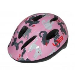 Велошлем детский Green Cycle Kitty pink