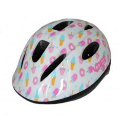 Велошлем детский Green Cycle Sweet white/pink