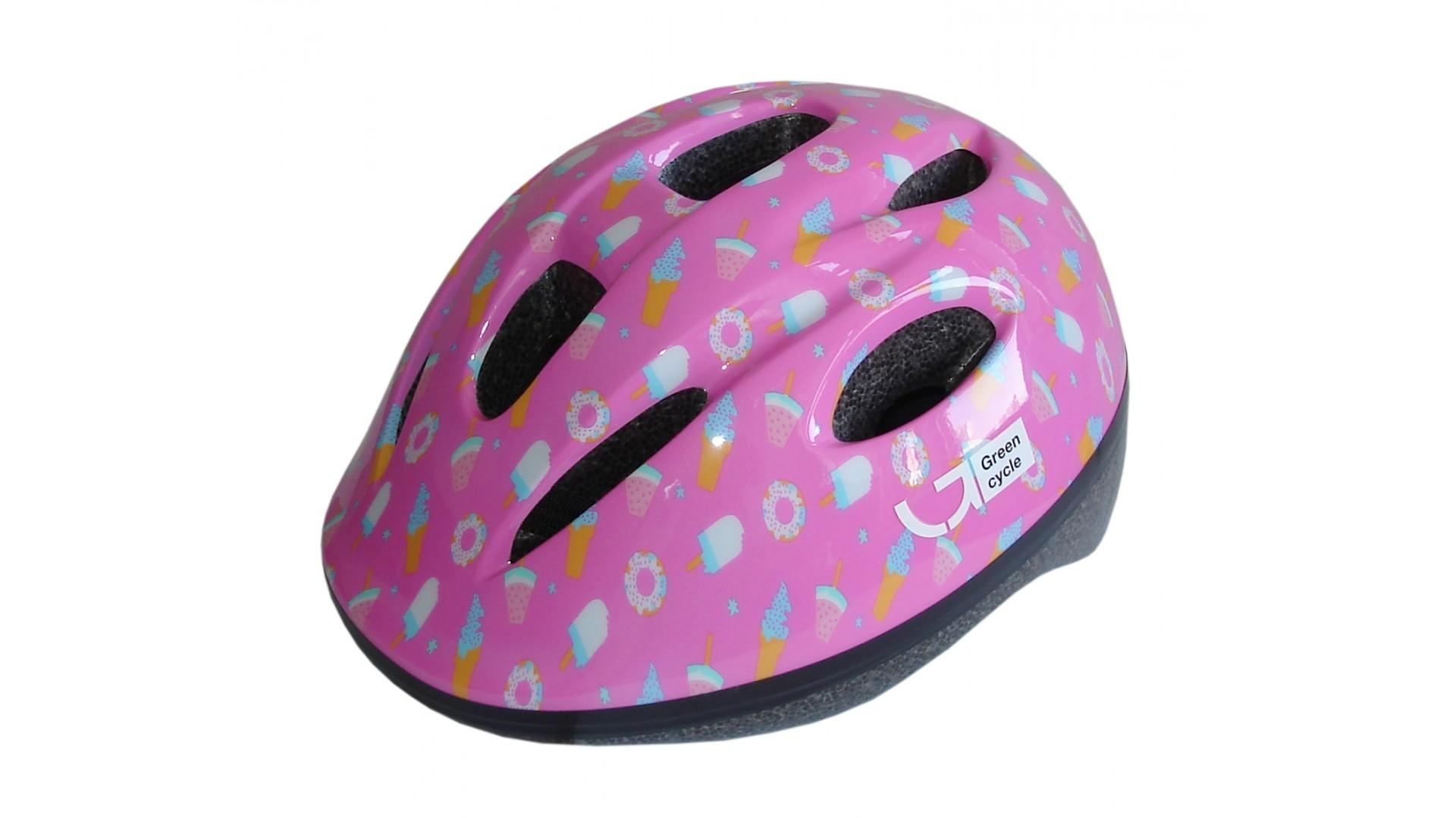 Велошлем детский Green Cycle Sweet pink