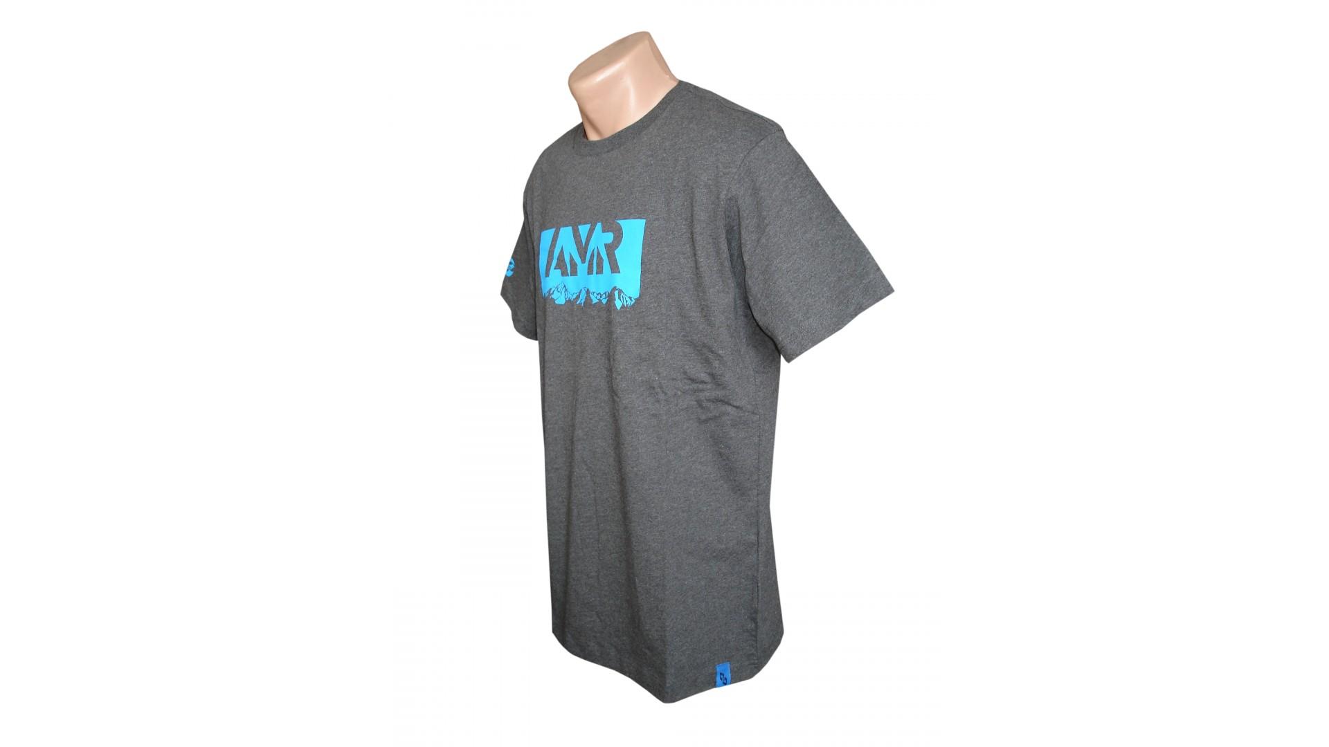 Футболка Ghost T-shirt AMR grey год 2016 вид сбоку