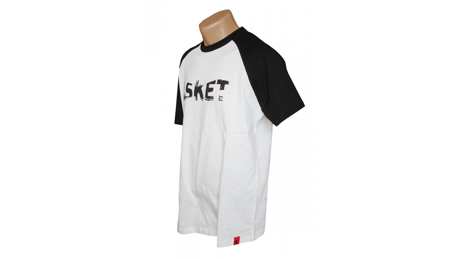Футболка Ghost T-shirt ASKET white/black год 2016