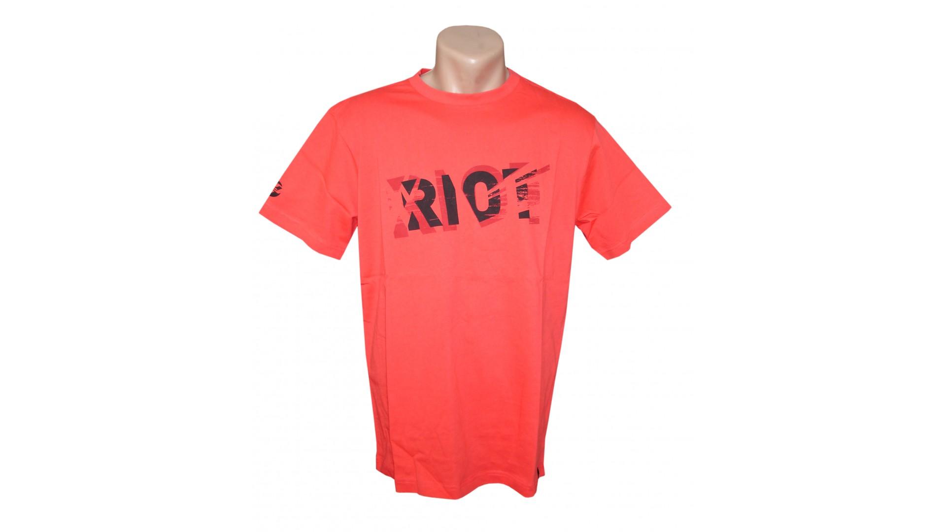Футболка Ghost T-shirt RIOT red год 2016 вид спереди