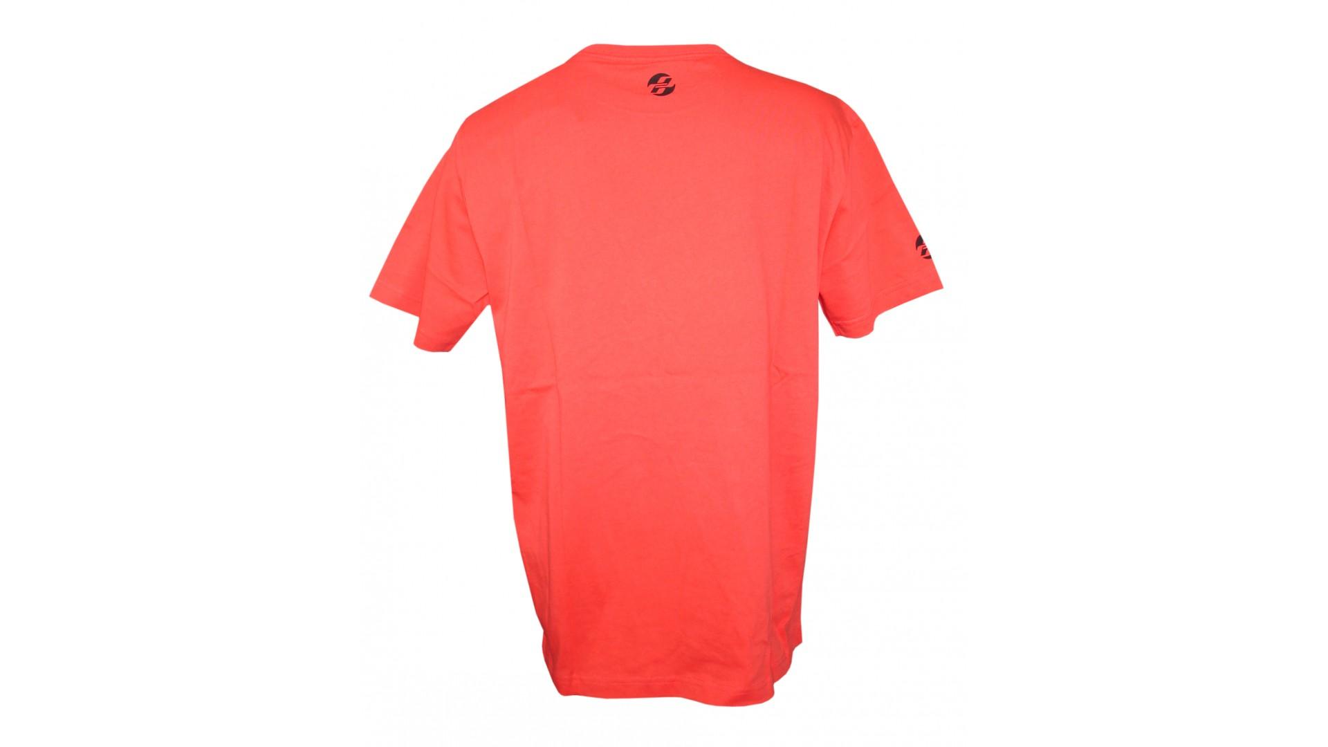 Футболка Ghost T-shirt RIOT red год 2016 вид сбоку