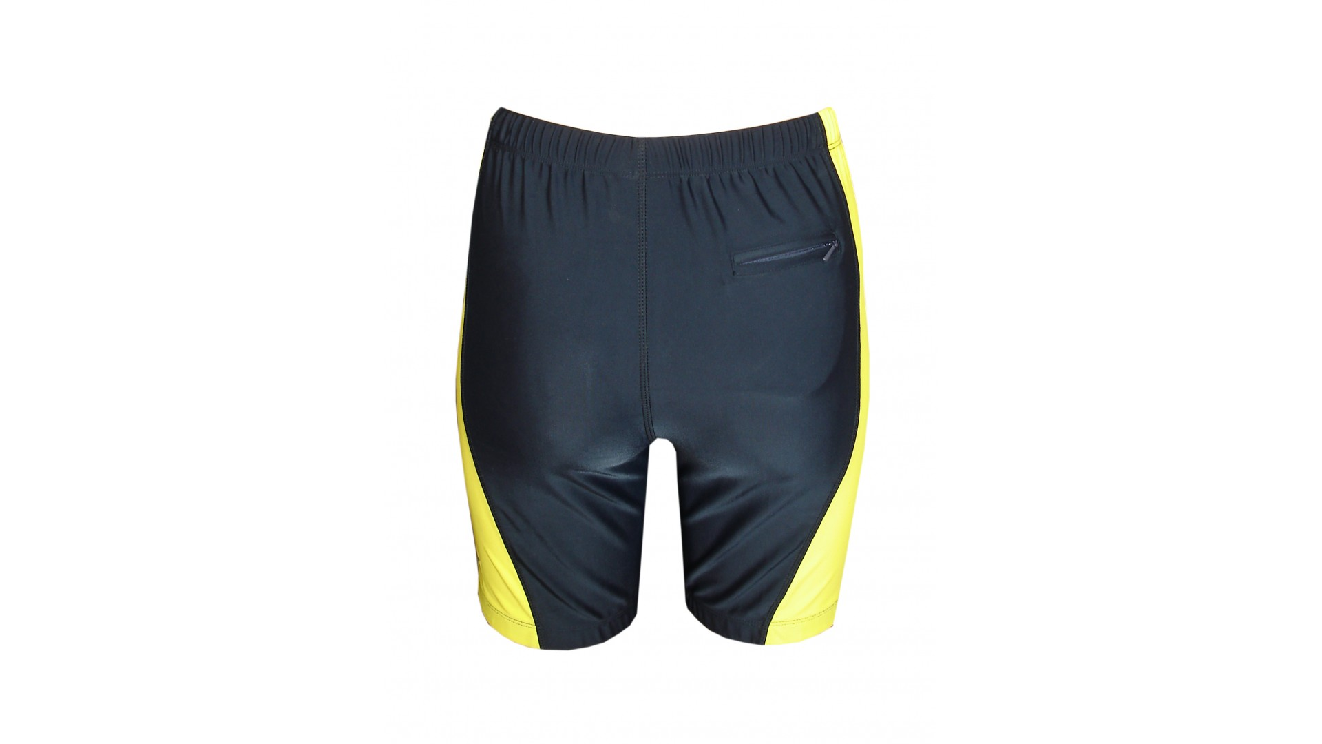 Трусы Ironman Short Tight Unisex black/yelloy