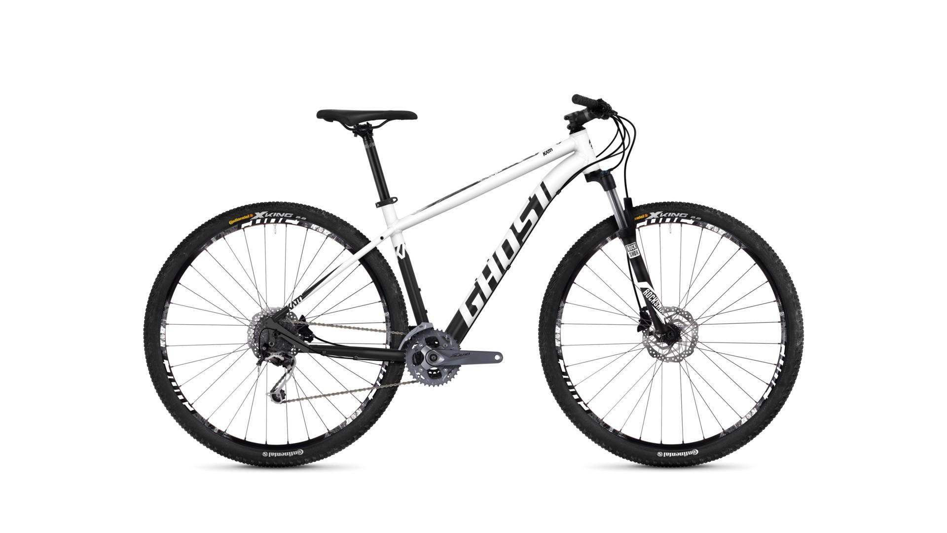 Велосипед GHOST Kato 5.9 AL U starwhite/nightblack год 2018