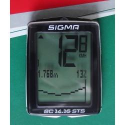 Велокомпьютер Sigma BC 14.16 STS CAD