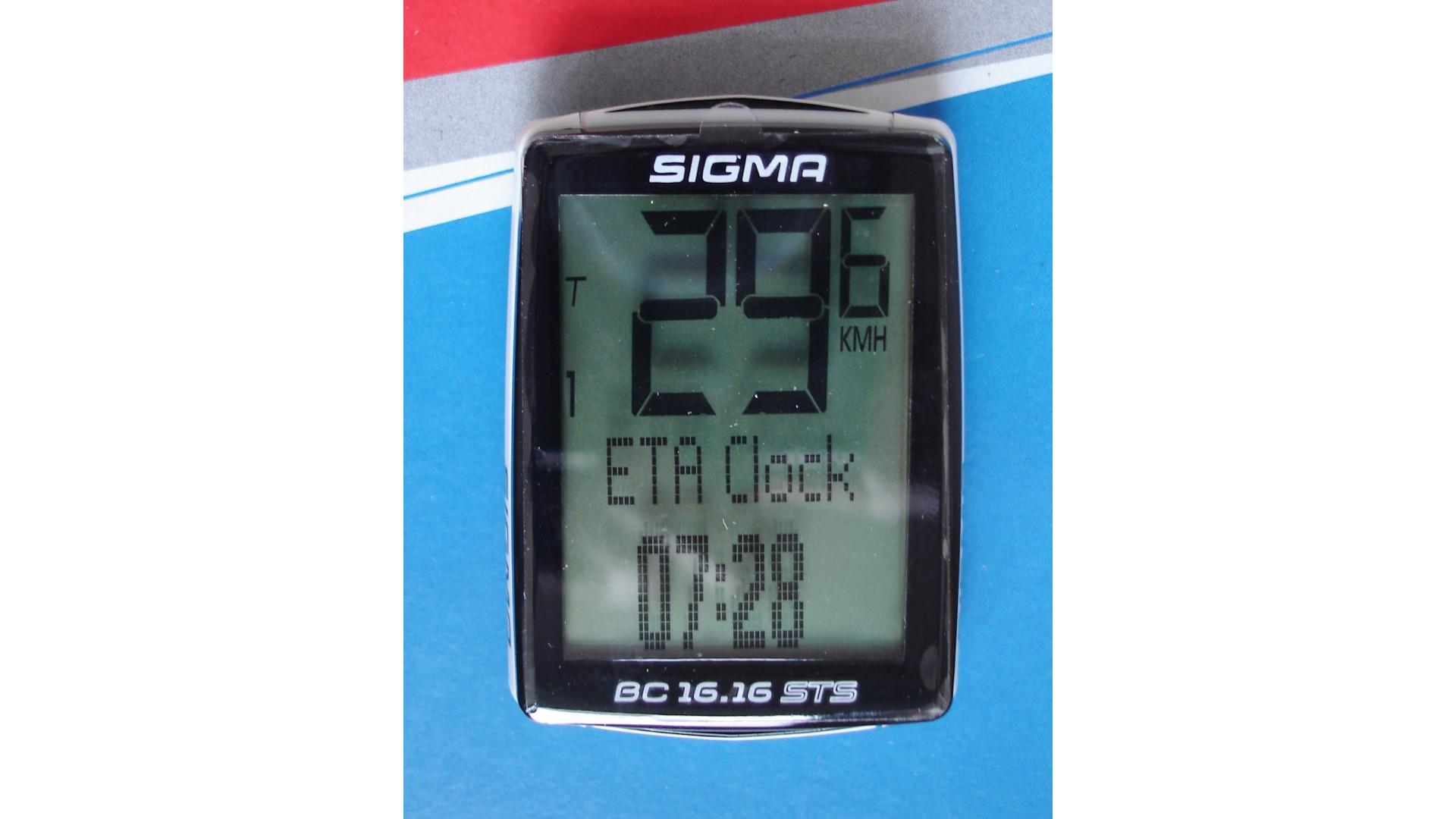 Велокомпьютер Sigma BC 16.16 STS