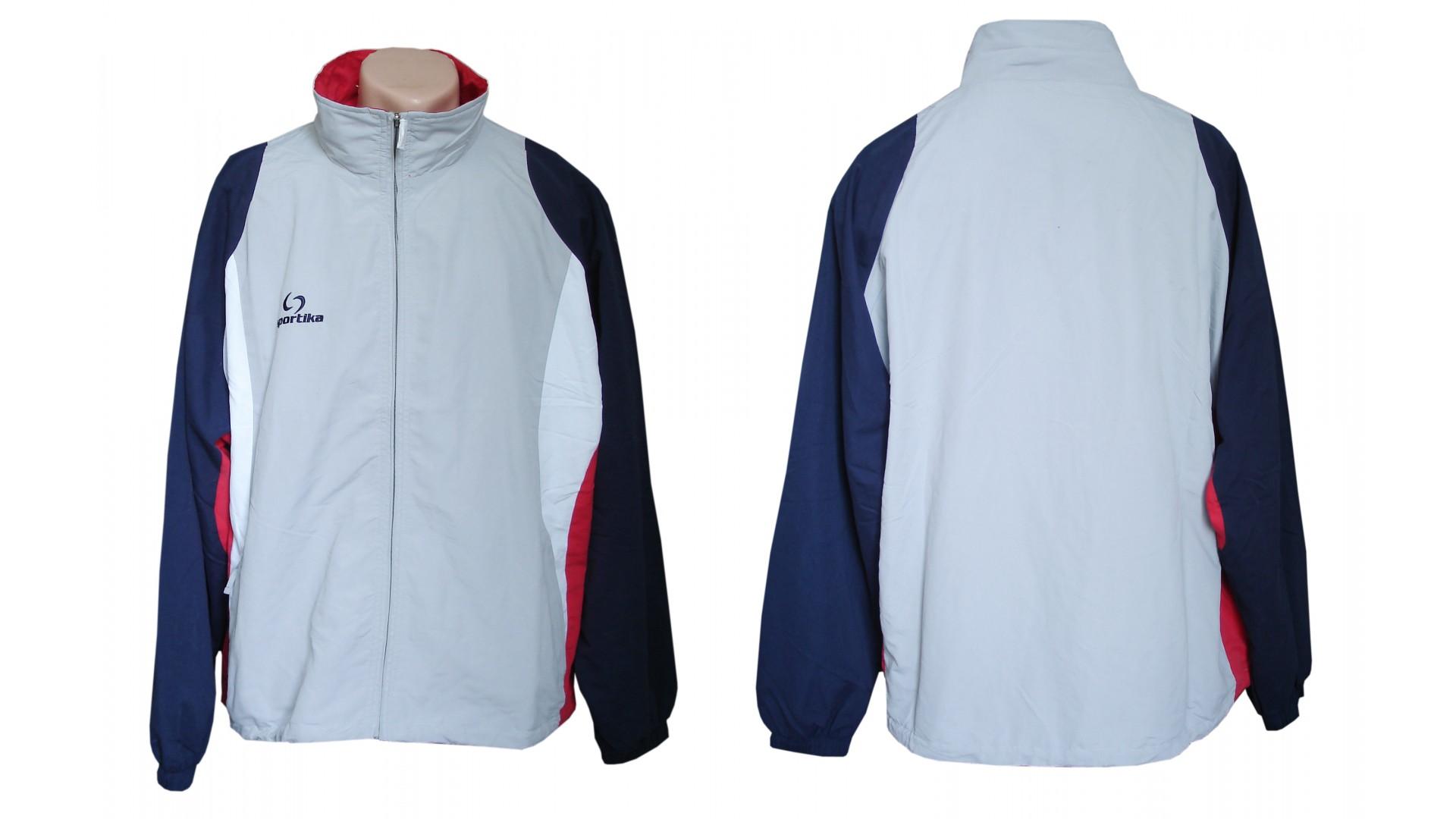 Спортивный костюм Sportika куртка вид спереди и сзади