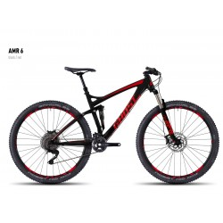 Велосипед GHOST AMR 6 black/red год 2016