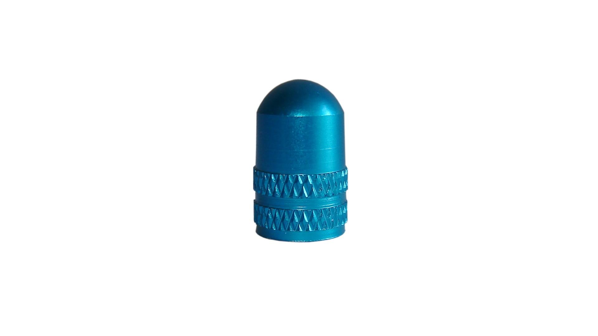 Колпачок для камеры Sheng-An, AV, алюминиевый, аннодирован, синий