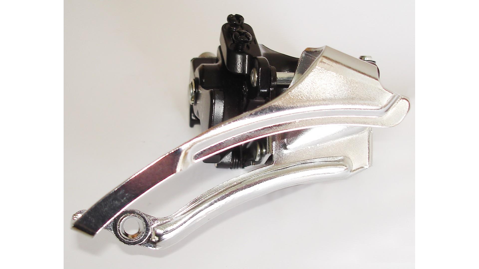 Переключатель передний SUN RACE M56 42/34/24T под трубу 34,9мм Al Dual-Pull