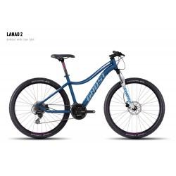 Велосипед GHOST Lanao 2 darkblue/white/cyan/pink год 2016